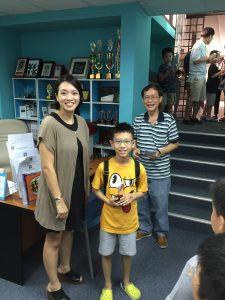 Merit Prize winner Brian Lim